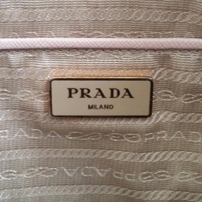saffiano leather bag beige